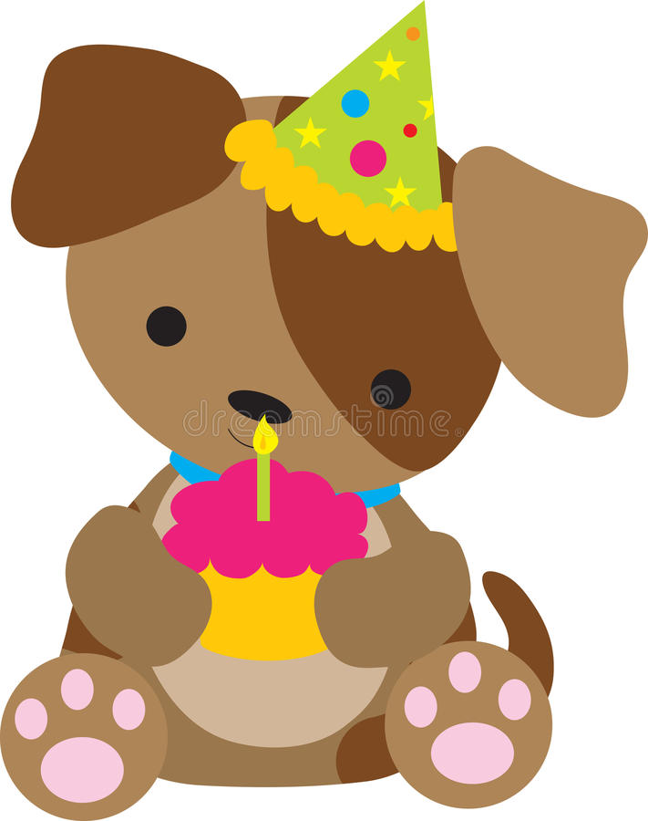 Download Puppy Birthday Stock Image - Image: 13659361