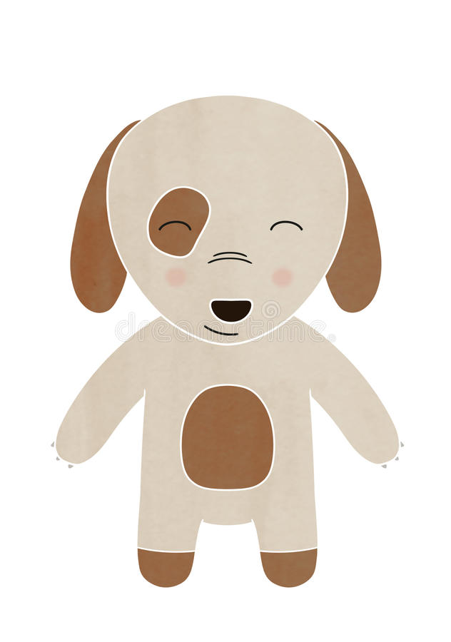 Puppy dog cartoon stock photography