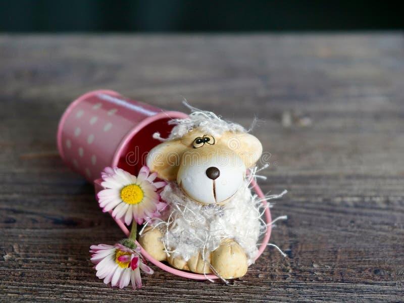 Puppy dog giocattolo fotografie stock libere da diritti