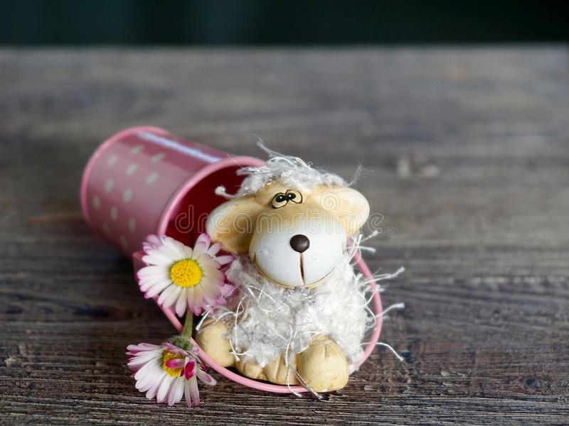 Puppy dog toy royalty free stock photos