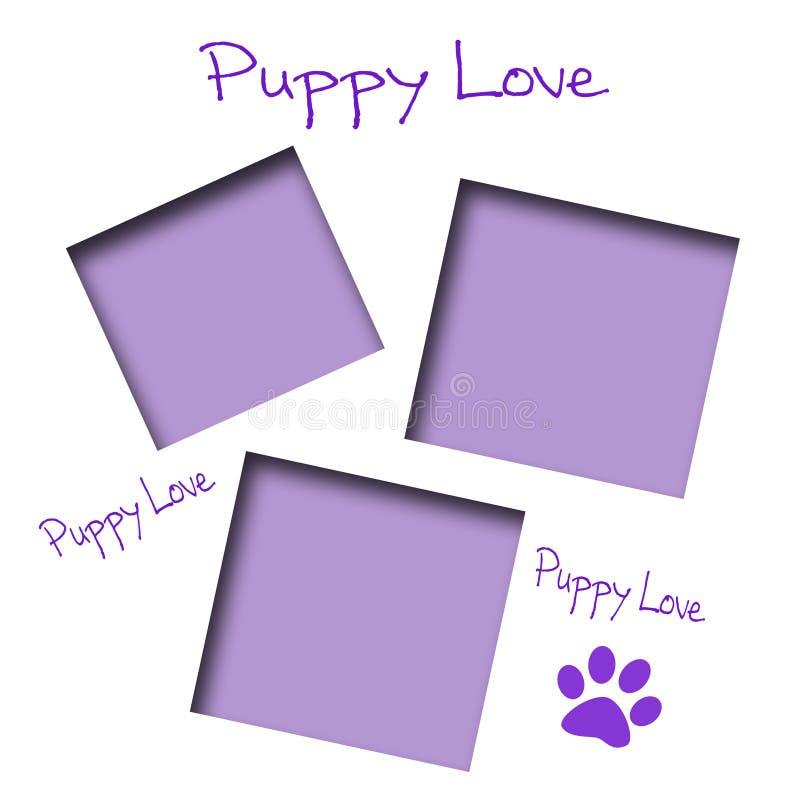 Free Puppy Love Scrapbook Stock Photo - 7241680