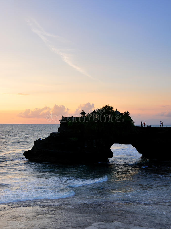Pura Batu Bolong - lote de Tanah, Bali foto de stock royalty free
