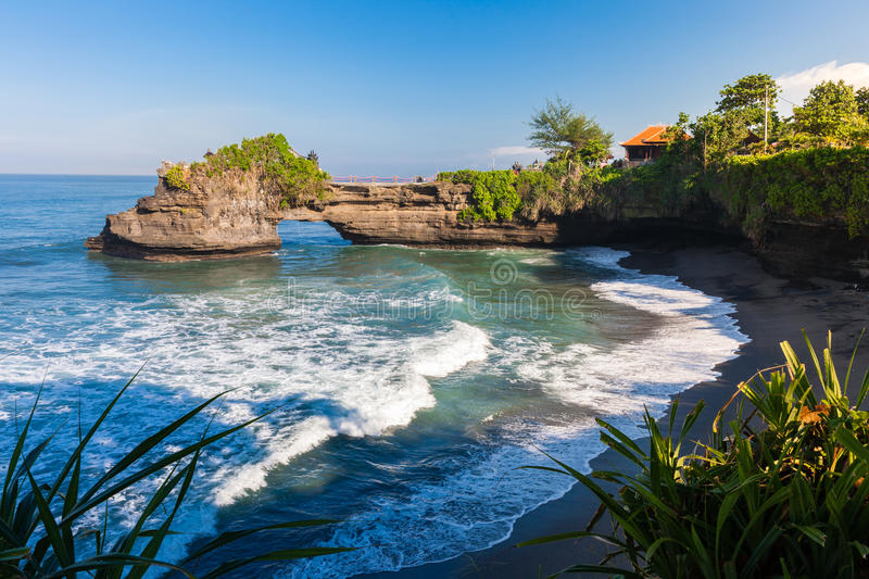 Pura Batu Bolong , Tanah Lot, Bali stock photo