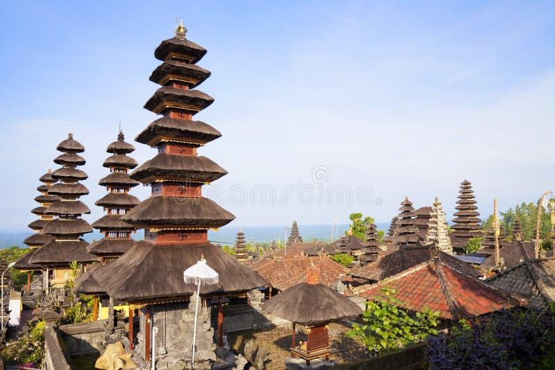 Pura Besakih, Bali, Indonésia fotografia de stock