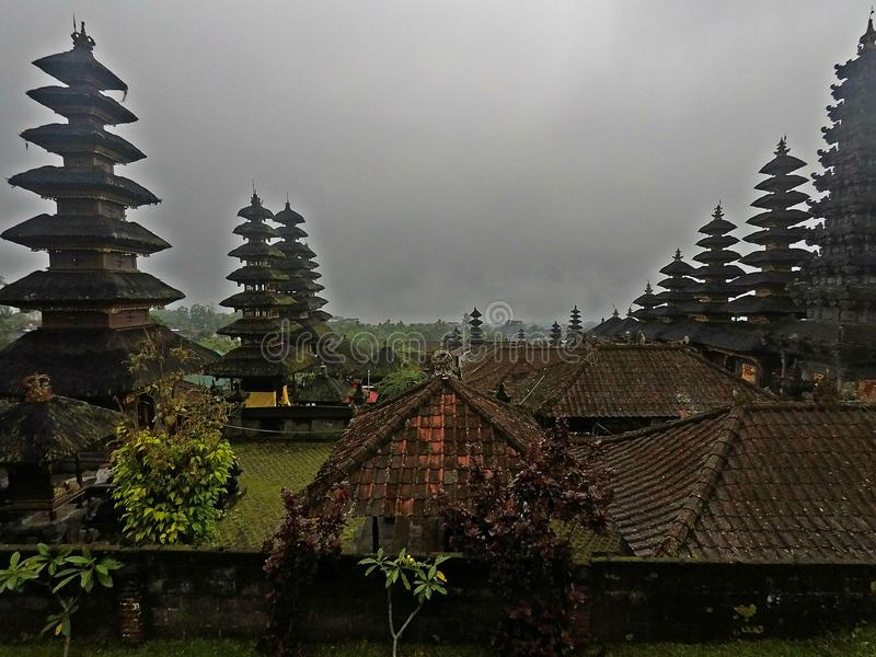 Pura Besakih, Bali zdjęcia stock