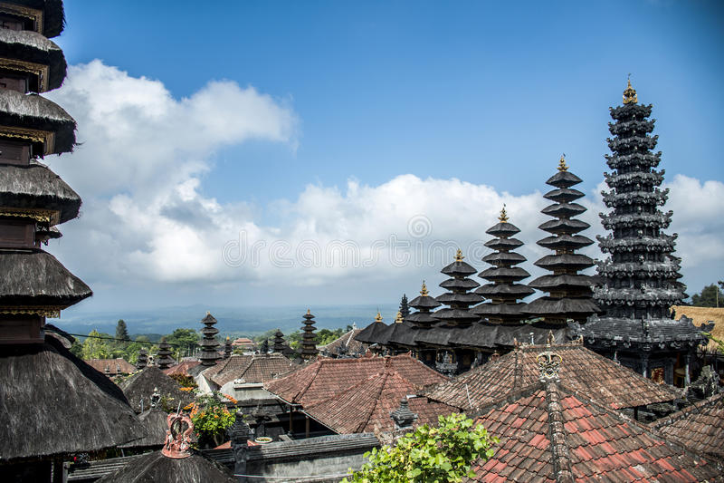 Pura besakih big mother temple Bali Indonesia 9 royalty free stock images
