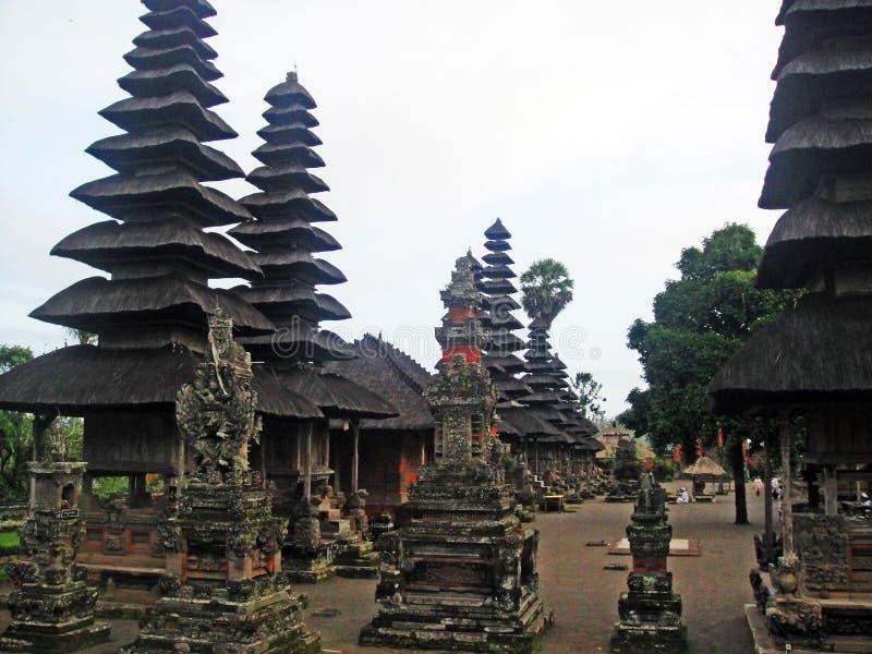 Pura Besakih em Bali foto de stock royalty free
