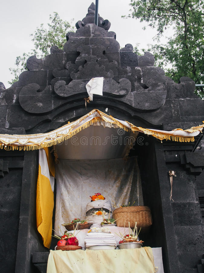 Pura Candi Dasa stock images