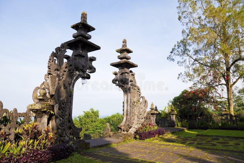 Pura Gelap, Besakih, Μπαλί, Ινδονησία στοκ φωτογραφίες με δικαίωμα ελεύθερης χρήσης