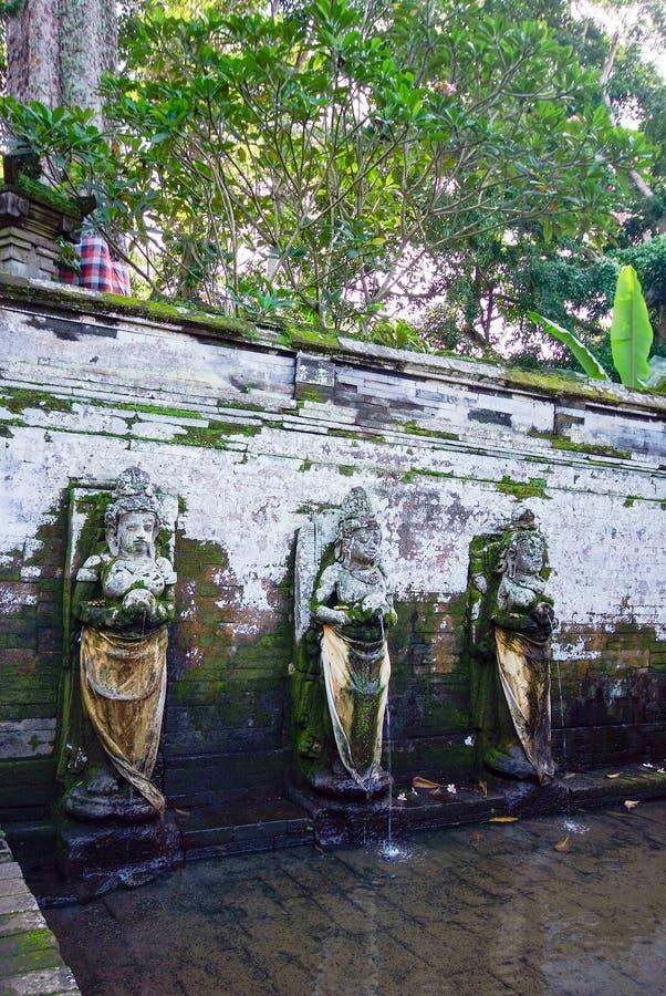 Pura Goa Gajah świątynia przy Bali wyspą fotografia stock