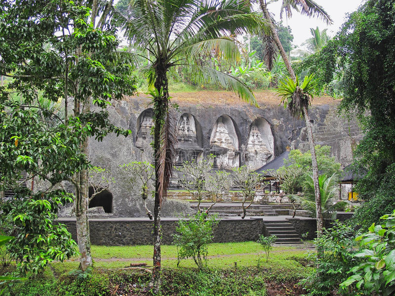 Pura Gunung Kawi fotografía de archivo
