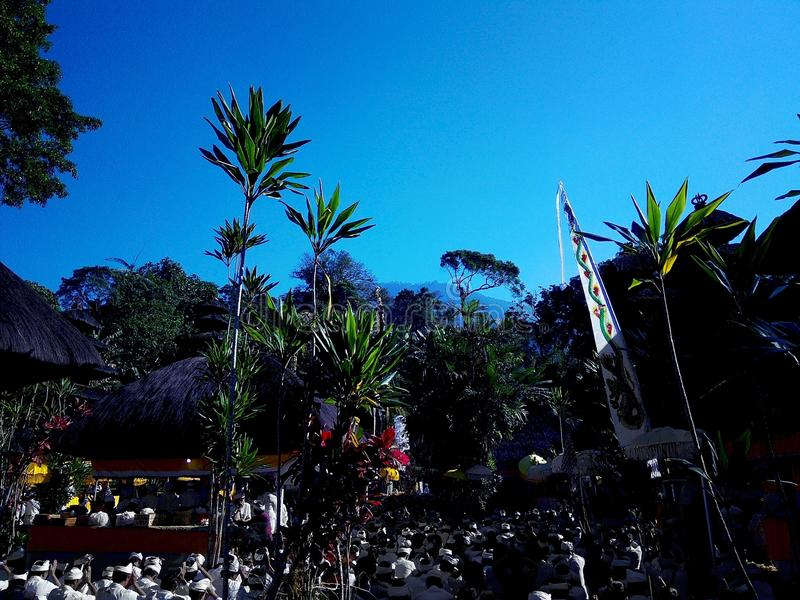 Pura Luhur Batukaru royalty-vrije stock fotografie