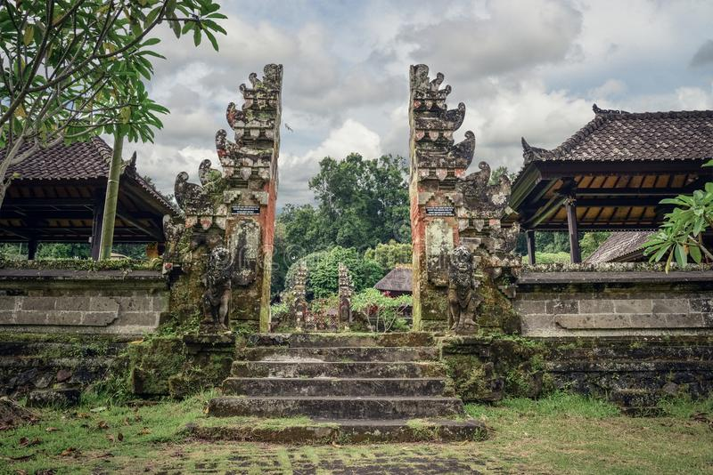 Pura Luhur Batukau Batukaru Hindu temple. In Tabanan, Bali, Indonesia. Located on the southern slope of Mount Batukaru, Tabanan, Bali Indonesia stock photos