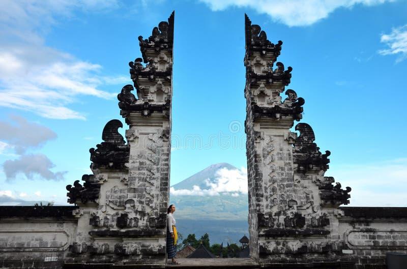 Pura Luhur Lempuyang temple Bali Indonesia royalty free stock photos