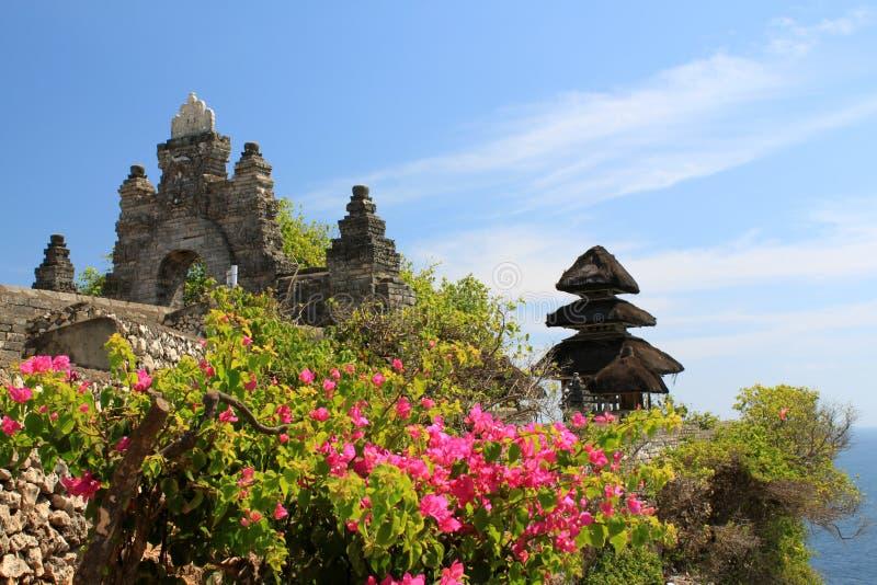 Pura Luhur Uluwatu temple, Bali royalty free stock image