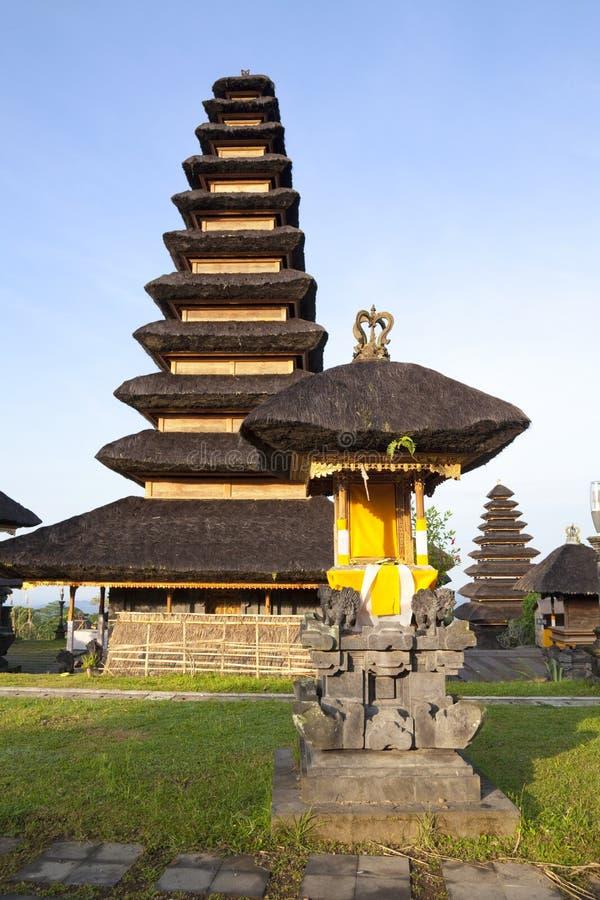 Pura Penataran Agung, Besakih, Μπαλί, Ινδονησία στοκ φωτογραφίες