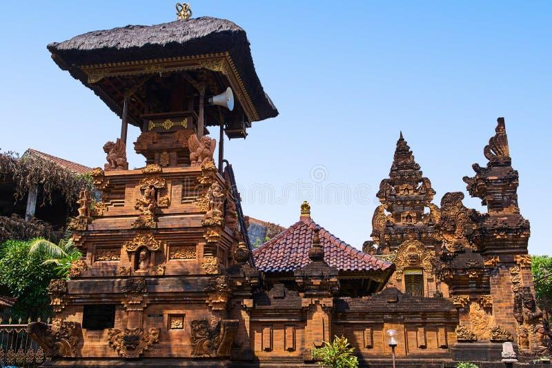 Pura Penyarikan-Tempelansicht in Kuta, Bali-Insel stockbilder