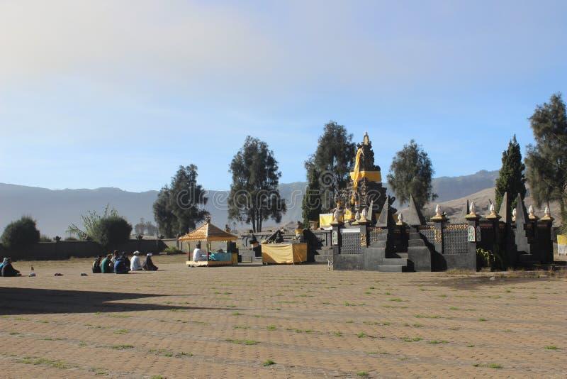 Pura Poten, cudowny świątynny podróży miejsce przeznaczenia zdjęcia royalty free
