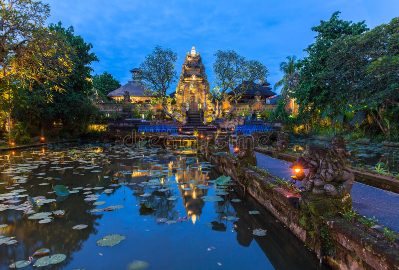 Download Pura Saraswati Temple, Ubud, Bali Stock Image - Image of pura, hinduism: 68307405