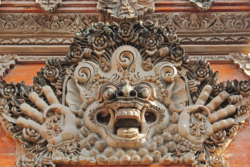 Pura Taman Ayun, Bali - obrazy stock