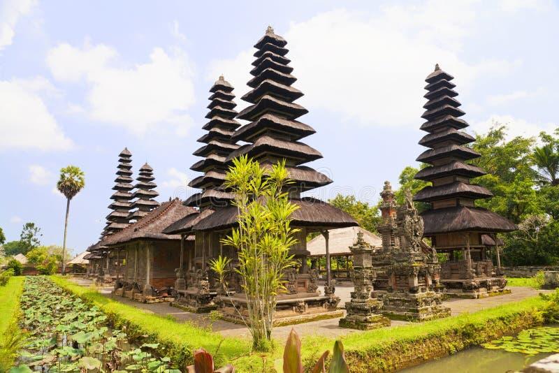 Pura Taman Ayun, Bali, Indonésia imagem de stock