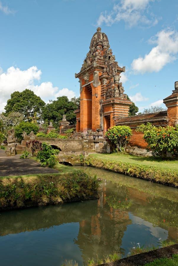 Pura Taman Ayun dans Bali photographie stock libre de droits