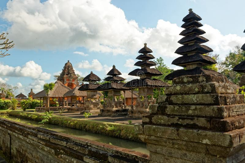 Pura Taman Ayun dans Bali photos stock