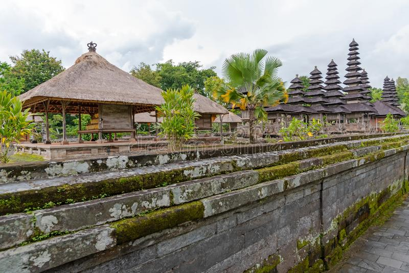 Pura Taman Ayun dans Megwi, Bali photo stock