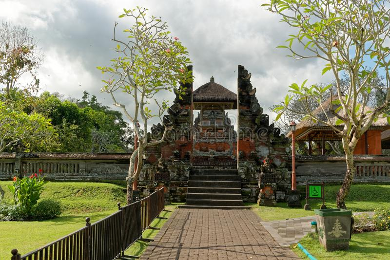 Pura Taman Ayun Main Entrance images libres de droits