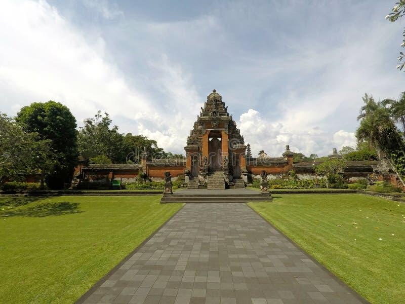 Pura Taman Ayun Temple, Bali stock afbeelding