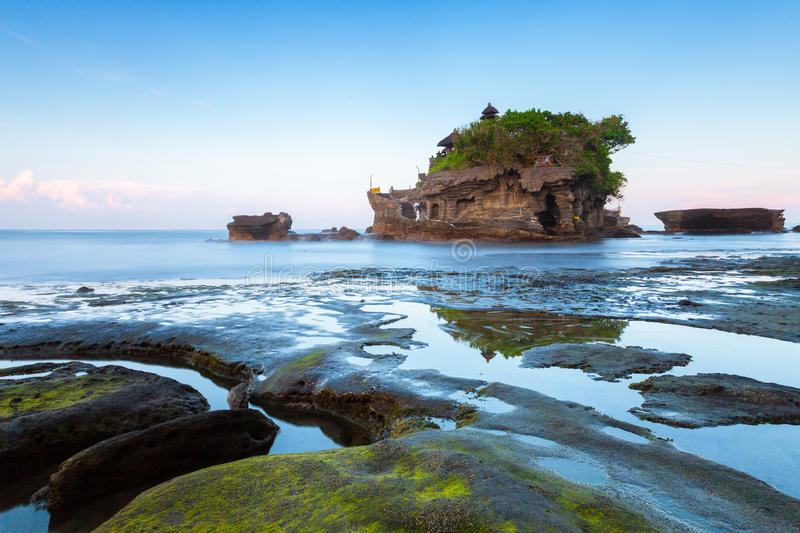 Download Pura Tanah Lot In The Morning, Bali, Indonesia Stock Image - Image of landscape, balinese: 69452389
