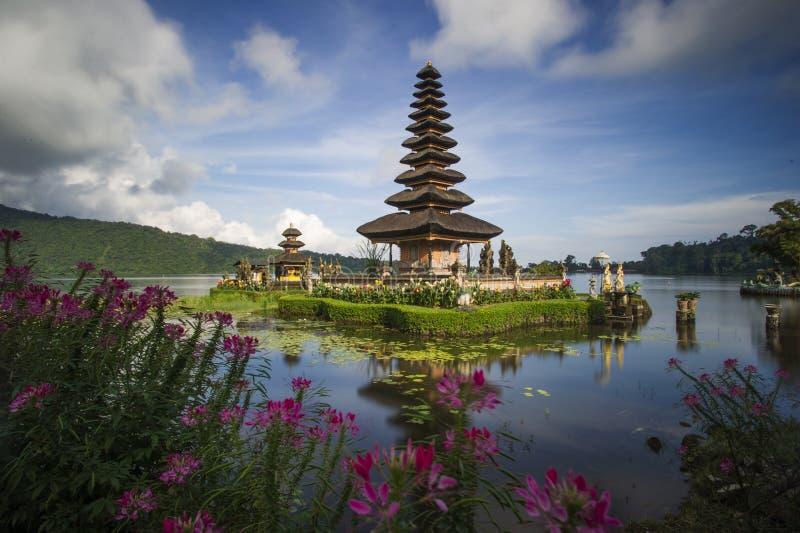 Pura Ulun Danu Бали стоковое изображение rf