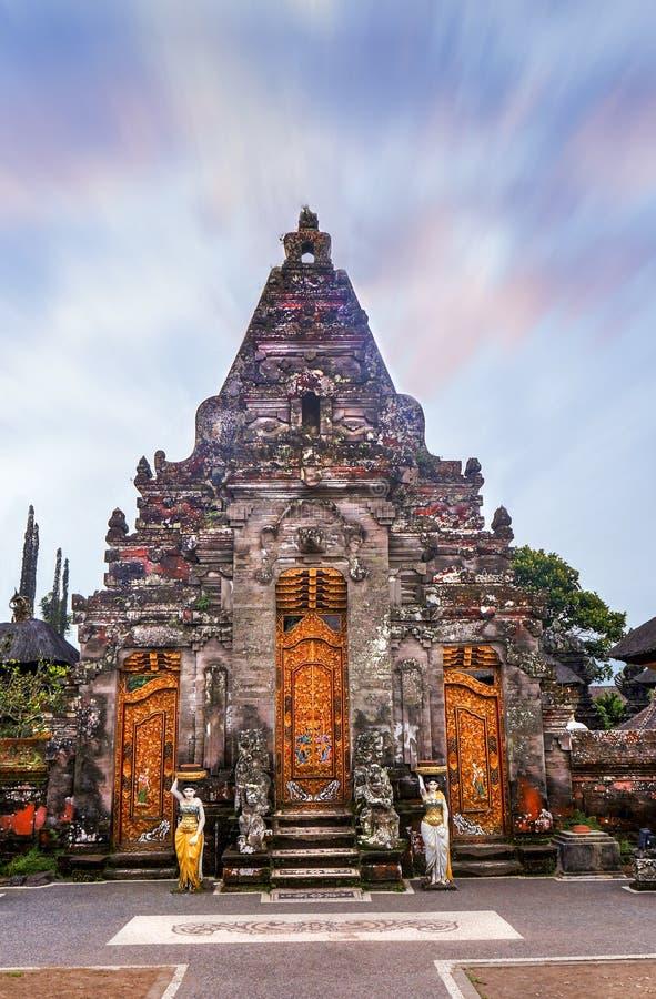 Pura Ulun Danu Bratan Bali Hinduska świątynia Bali Indonezja fotografia royalty free