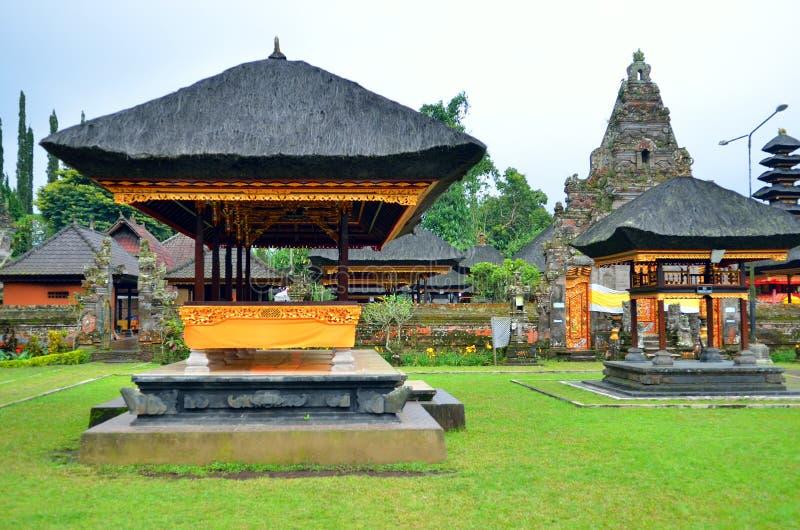 Pura Ulun Danu Bratan, Hindu temple on Bratan lake, Bali, Indonesia. Stock image of Pura Ulun Danu Bratan, Hindu temple on Bratan lake, Bali, Indonesia royalty free stock photo