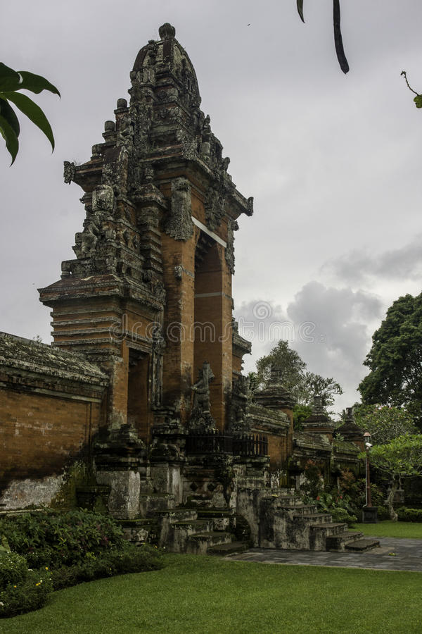 Pura Ulun Danu Bratan temple stock images