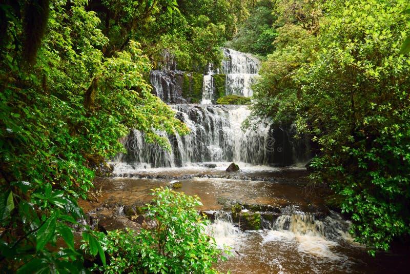 Download Purakaunui Falls Stock Photos - Image: 15566923