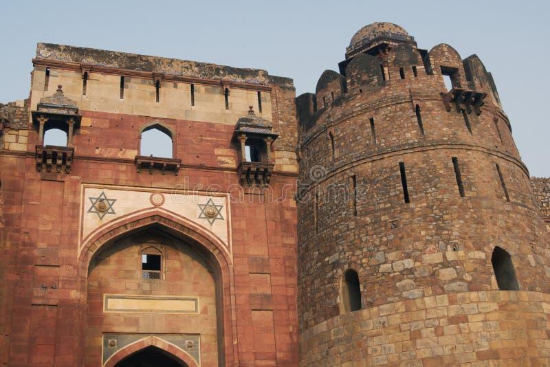 Download Purana Qila stock image. Image of entrance, purana, delhi - 7814601