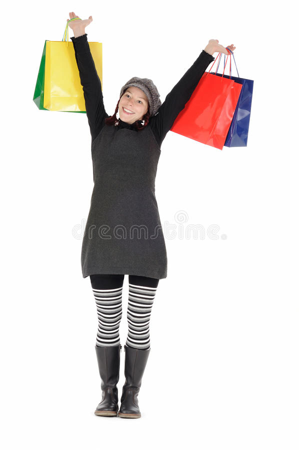 Download Purchase stock image. Image of dress, isolated, hold - 11865271