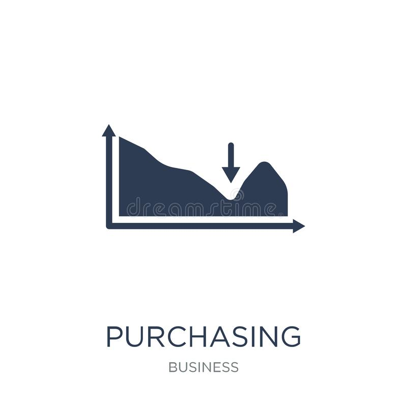Purchasing Managers ' Index (PMI) icon. Trendy flat vector Purcha. Sing Managers ' Index (PMI) icon on white background from business collection, vector vector illustration