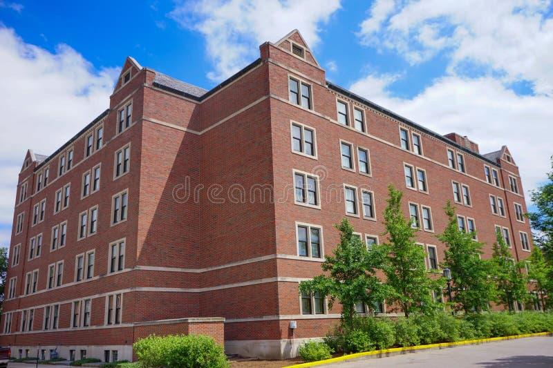 Purdue kampusu budynek zdjęcie royalty free