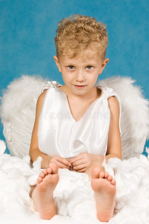 Pure angel stock photography