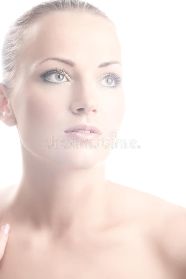 Pure beauty royalty free stock images