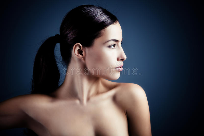 Pure beauty royalty free stock photography