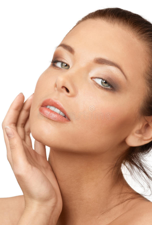 Download Pure beauty stock image. Image of human, front, attractive - 17654727