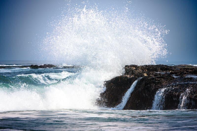 Pure Blue Waters Of California's Pacific Ocean, Coastal ... Pacific Ocean Waves