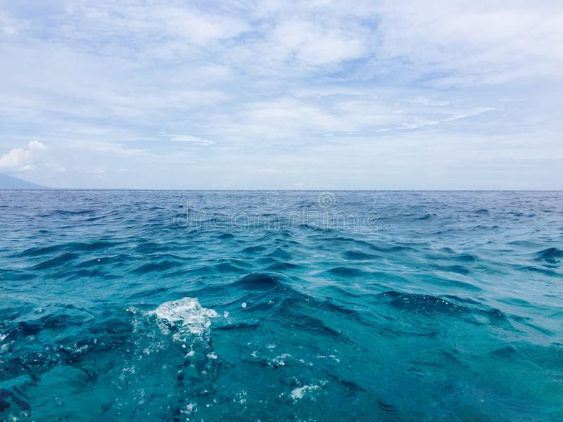 pure clean sea royalty free stock photos
