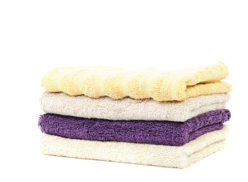 Download Pure cotton towels stock photo. Image of indoors, colored - 24497508