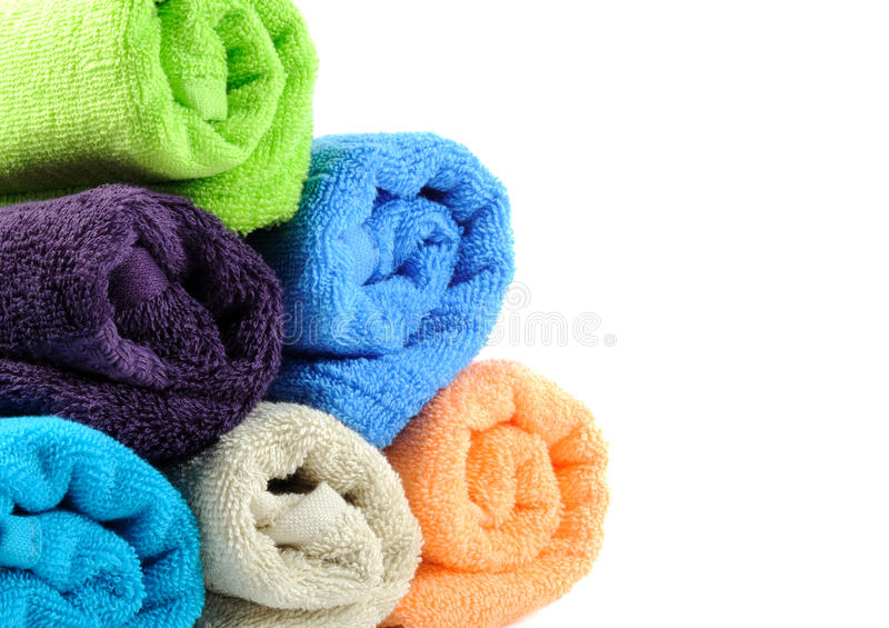 Download Pure cotton towels stock image. Image of towel, hygiene - 28382451