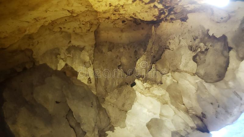 Pure Crystal rock close up cave style stock images