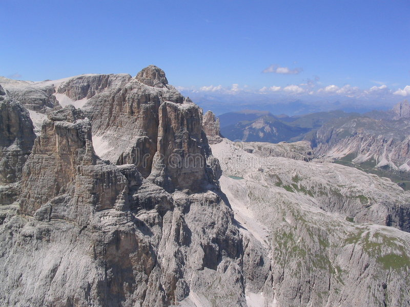 Pure dolomite cliffs royalty free stock photos
